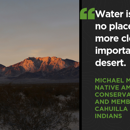 Legislation introduced to protect California desert water resources