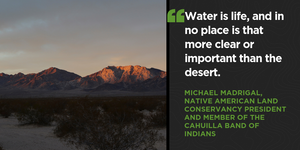 California State Senator Richard Roth has introduced Senate Bill 307 to enhance protections for California's deserts.