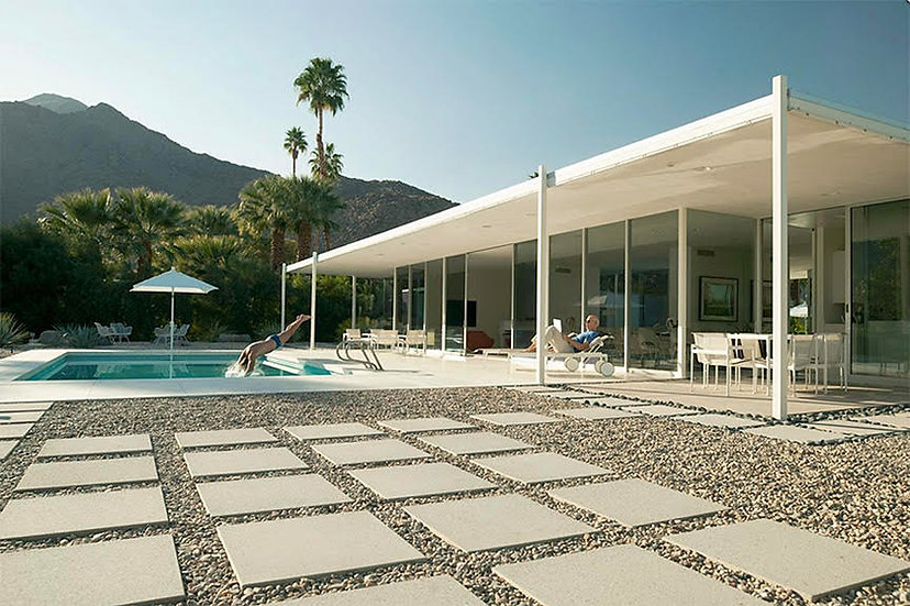 Wednesday Afternoon at Palm Springs Glass House