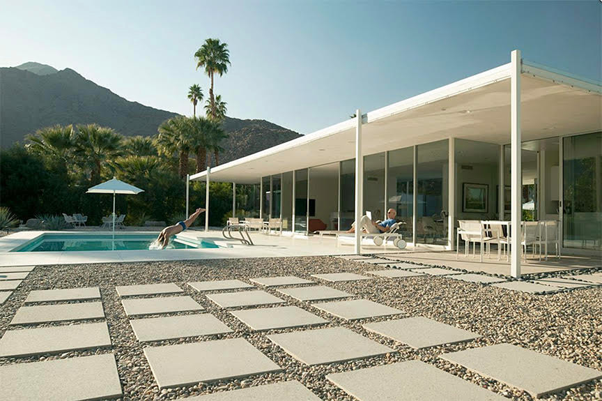 Wednesday Afternoon In Palm Springs Glass House