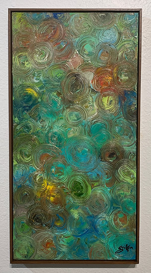 Untitled 20 (Vertical Circles)