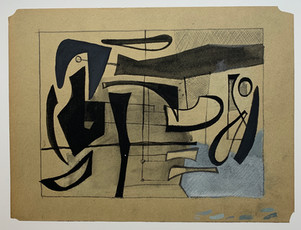 Abstract with Blue, c.1947
