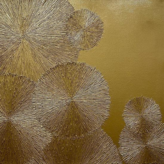 Gold #2 Chrysanthemum Series