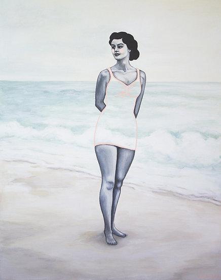 Dinah at the Shore