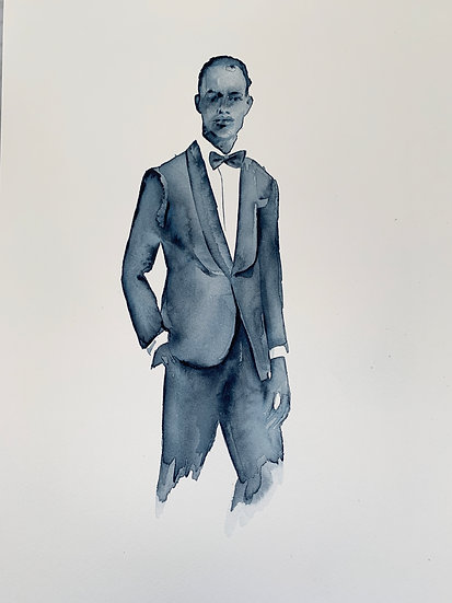 Untitled #2 (Suit/Bow Tie)