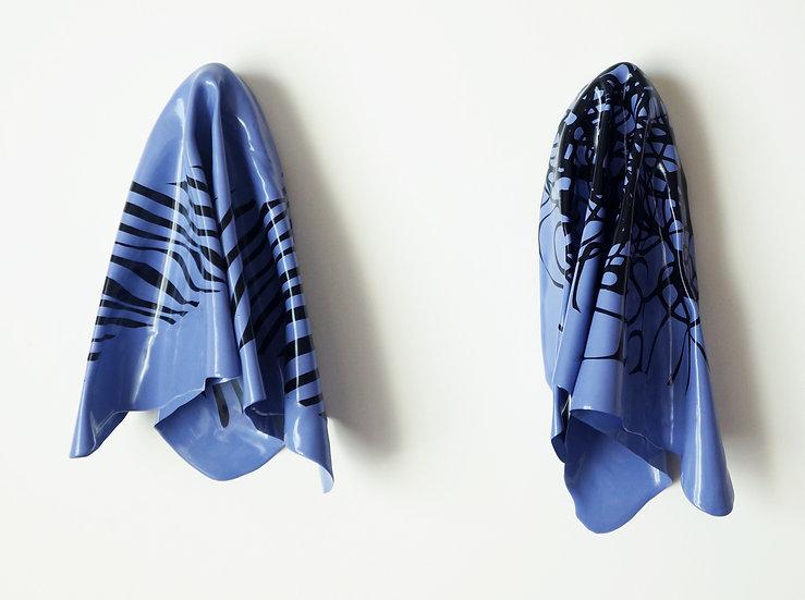 Hanky Code Pair = Air Force Blue