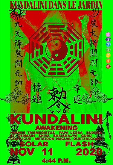 Kundalini Dans le Jardin