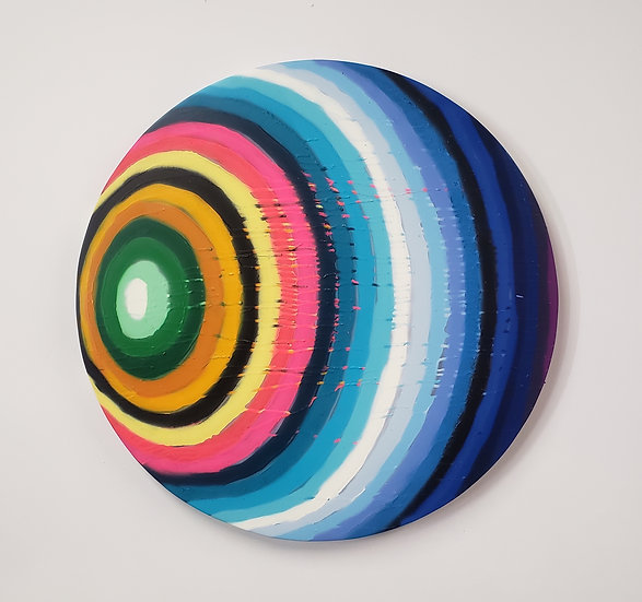 Stripe Series (Round)