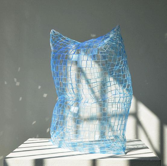 Ghost Pillow (Light Blue)