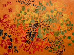 Untitled (Orange), 1960