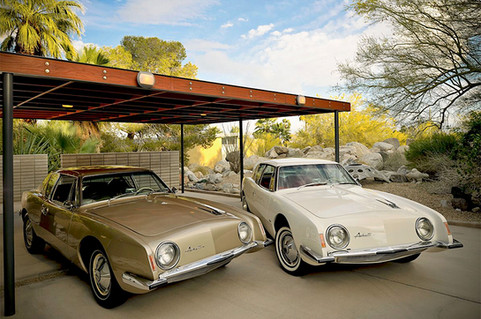 1963 Avanti's at the Loewy House