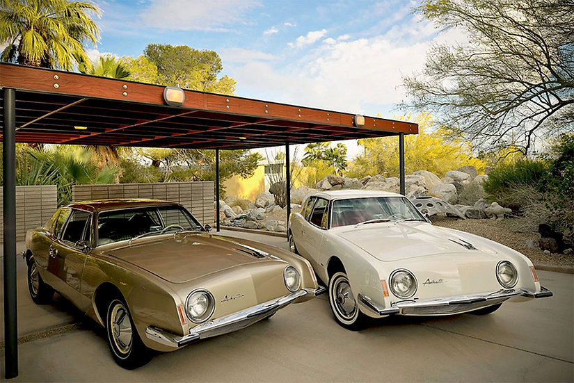 1963 Avantis at the Loewy House
