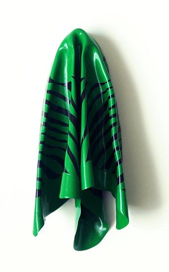 Hanky Code Stripes = Kelly Green