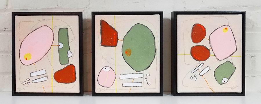 Past, Present, Future (Triptych)