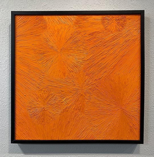 Untitled 34 Orange, The Chrysanthemum Series