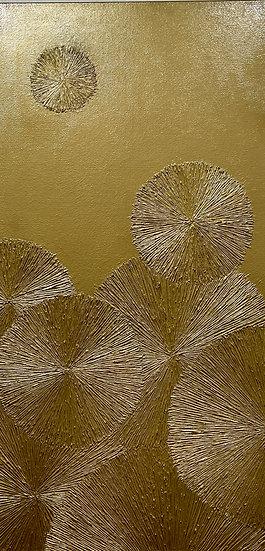 Gold #5 Chrysanthemum Series