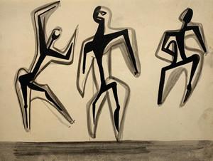 3 Figures, c.1946