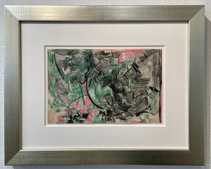 Untitled (Green and Pink),
