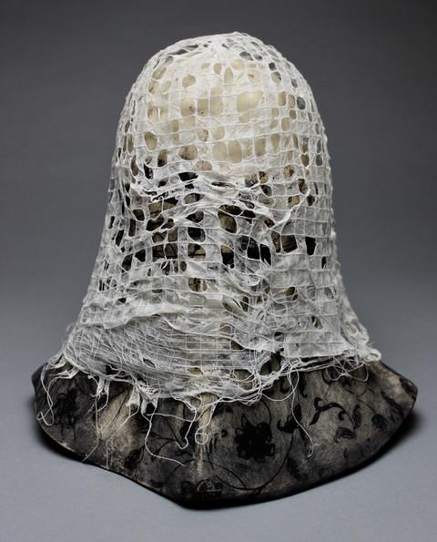 Black and Ivory Veil