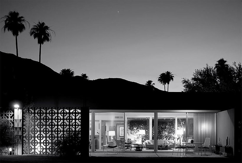 The Hollywood House at Sandpiper, 1963