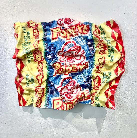 Popeye Bubble Gum Wrapper