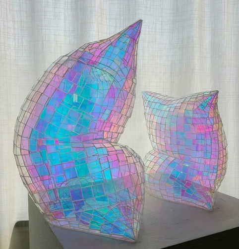 Holographic Pillows Full & Half Size