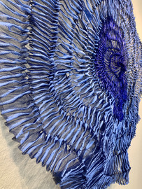 Sujoon II (Cornflower & Cobalt) Detail 3