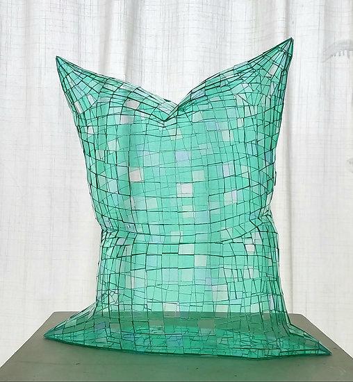 Glass Pillow (Green)