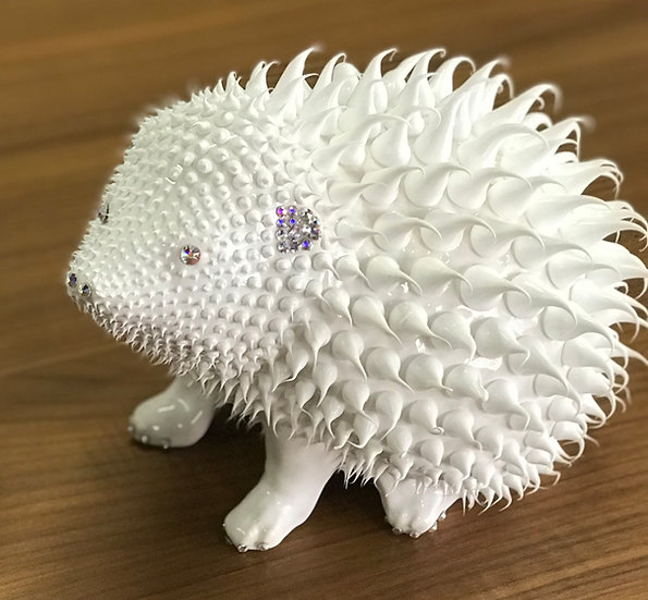 Hedgehog (White Medium)