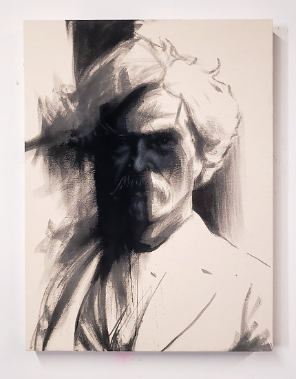 Mark Twain Series (Black Front View)