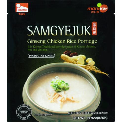 Sam Gye Juk (Chicken Porridge) / 삼계죽