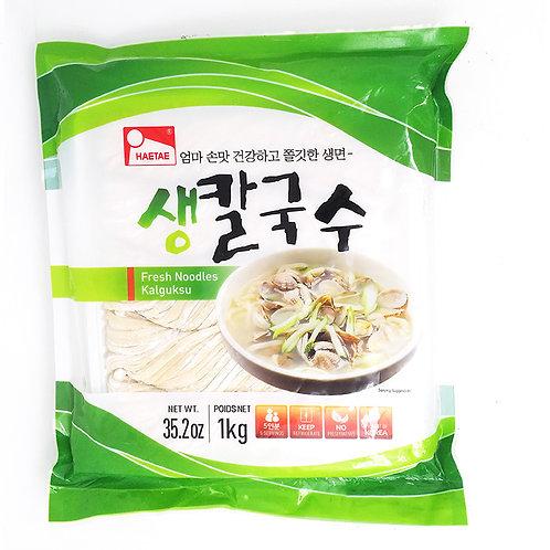 생칼국수 / Fresh Noodle Kalguksu