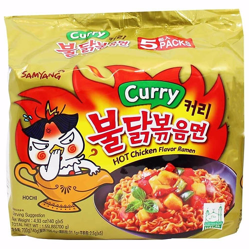 Hot Chicken Spicy Noodle Curry / 불닭볶음면 커리
