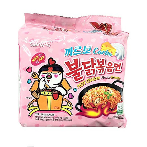 Hot Chicken Noodle Carbo (불닭볶음면 까르보)