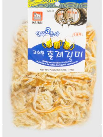Seasoned Squid (Hun-Je) / 고소한훈제진미