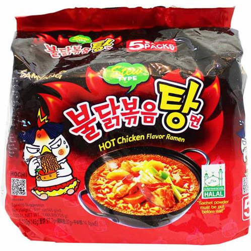 Hot Chicken Noodle Stew -불닭볶음탕면