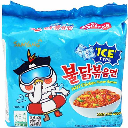 Hot Chicken Noodle Soup Cool Flavor / 쿨불닭볶음면