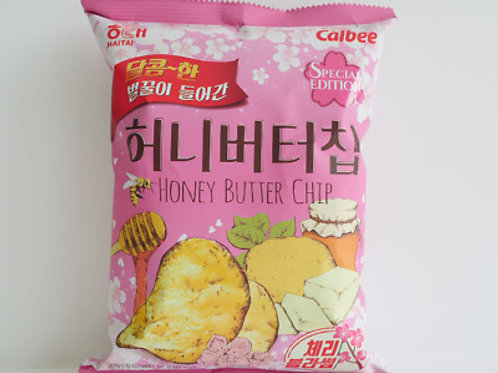 Honey Butter Chip Cherry Blossom / 허니버터칩 체리블라썸