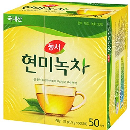 Dong Suh Green Tea with Brown Rice Large / 동서 현미녹차(Big)