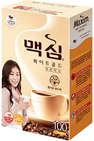 Instant Coffee Mix White Gold (Dongsuh) / 동서 화이트골드 커피믹스