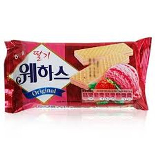 Strawberry Waffe (딸기웨하스)