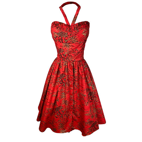 1950s Style 3 Piece Play Suit - Style TH-161