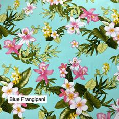 Blue Frangipani