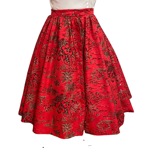 copy oFull Circle Skirt with Pockets