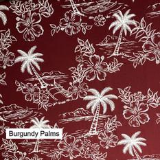 Burgundy Palms