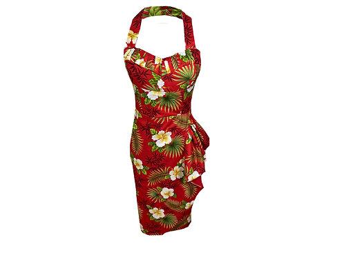 Jane Hawaiian Sarong Dress - 1950s Style.