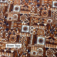 Brown Tapa