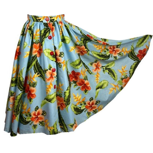 Full Circle Skirt with Pockets
