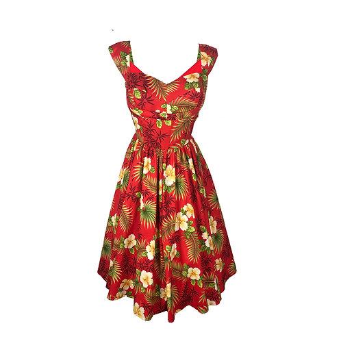 Shelf Bust Pinup Dress