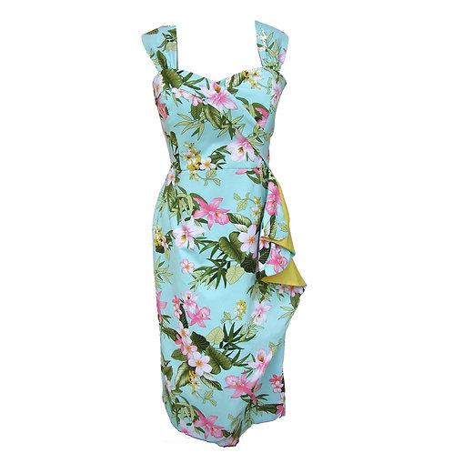 Carla Hawaiian Sarong Dress - Alfred Shaheen Inspired
